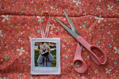 Adornos navideños con fotografías 1