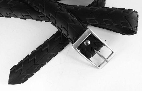 imagen Cómo hacer un cinturón con un neumático de bicicleta