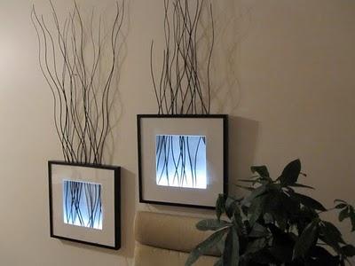 marcos ribba con retroiluminaci n gu a de manualidades. Black Bedroom Furniture Sets. Home Design Ideas
