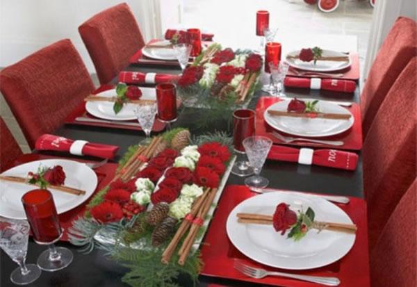 Detalles e ideas para la mesa de navidad gu a de - Decoracion de navidad para mesas ...