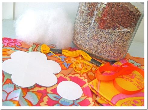 Adorno artesanal de lavanda 2