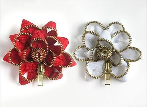 Flores fáciles con cierres