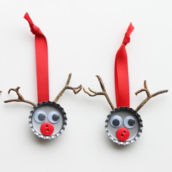 adornos navideños faciles de hacer y economicos Adornos Navideos Sencillos Gua De MANUALIDADES