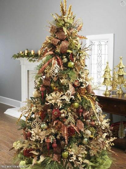 Prepara tu rbol de navidad con estas ideas gu a de - Decoracion de arboles navidenos ...
