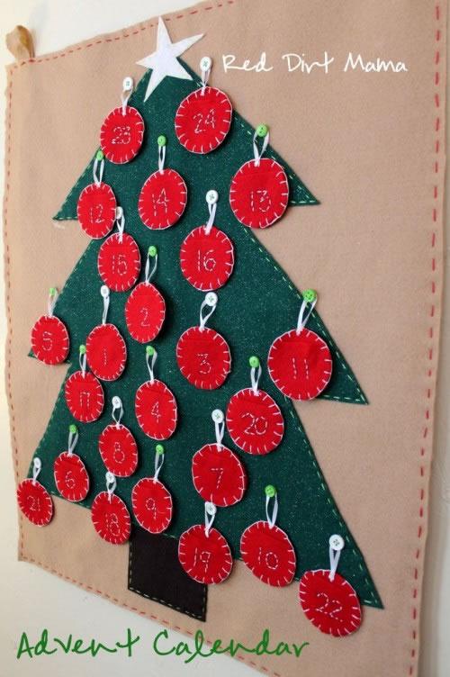 Calendarios de adviento para navidad Gua de MANUALIDADES