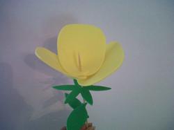 Rosas de goma eva9