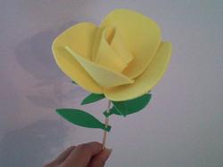 Rosas de goma eva11