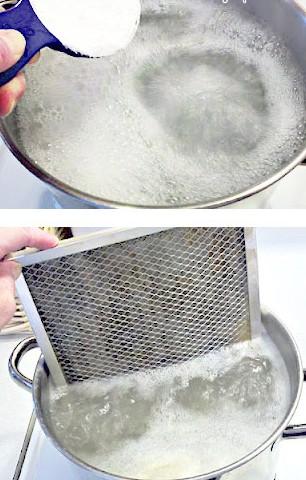 Limpiar el filtro de la campana 1