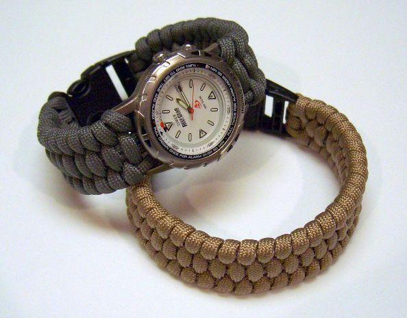 Correa tejida de reloj