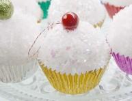 imagen Cupcakes para decorar el árbol navideño