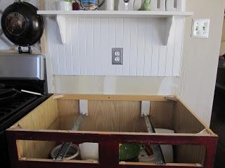 Paso a paso para una encimera de madera en la cocina - Pintar encimera cocina ...