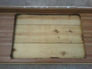 encimera de madera para la cocina