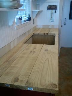 Paso a paso para una encimera de madera en la cocina - Encimera de madera para cocina ...