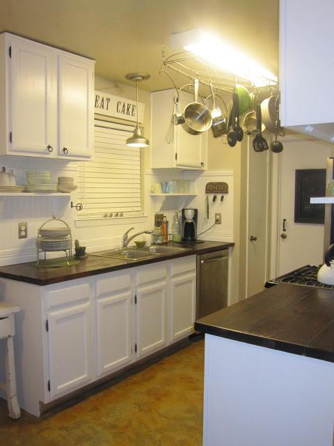 Paso a paso para una encimera de madera en la cocina gu a de manualidades - Cocina encimera madera ...