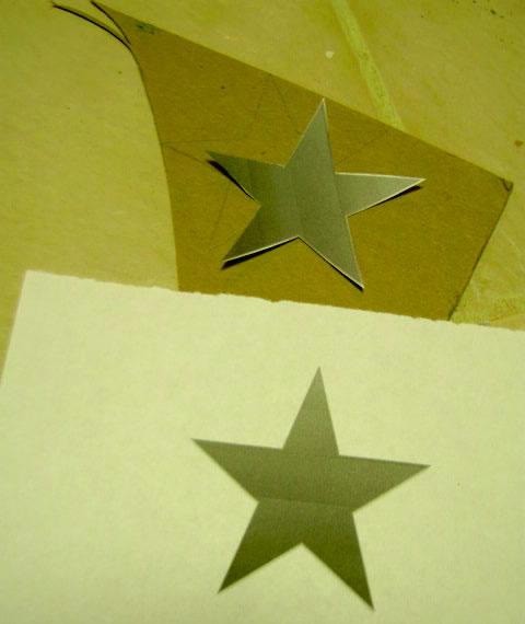 Estrellas con papel 3