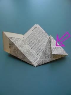 Flores de papel reciclado 11