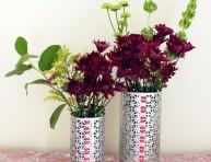 imagen Haz tus propios floreros metálicos