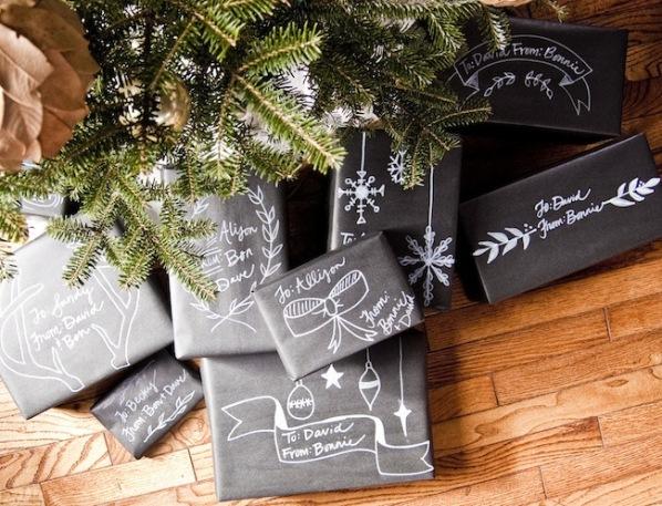 Envuelve regalos en navidad 1