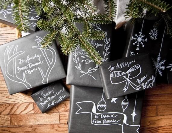 Envuelve regalos en navidad 2
