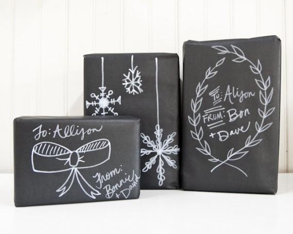 Envuelve regalos en navidad 5