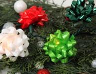 imagen Luces navideñas con moños