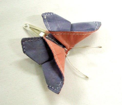 Mariposa de tela paso a paso
