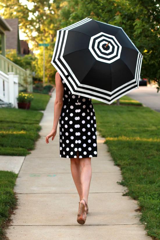 Aprende a personalizar tu paraguas