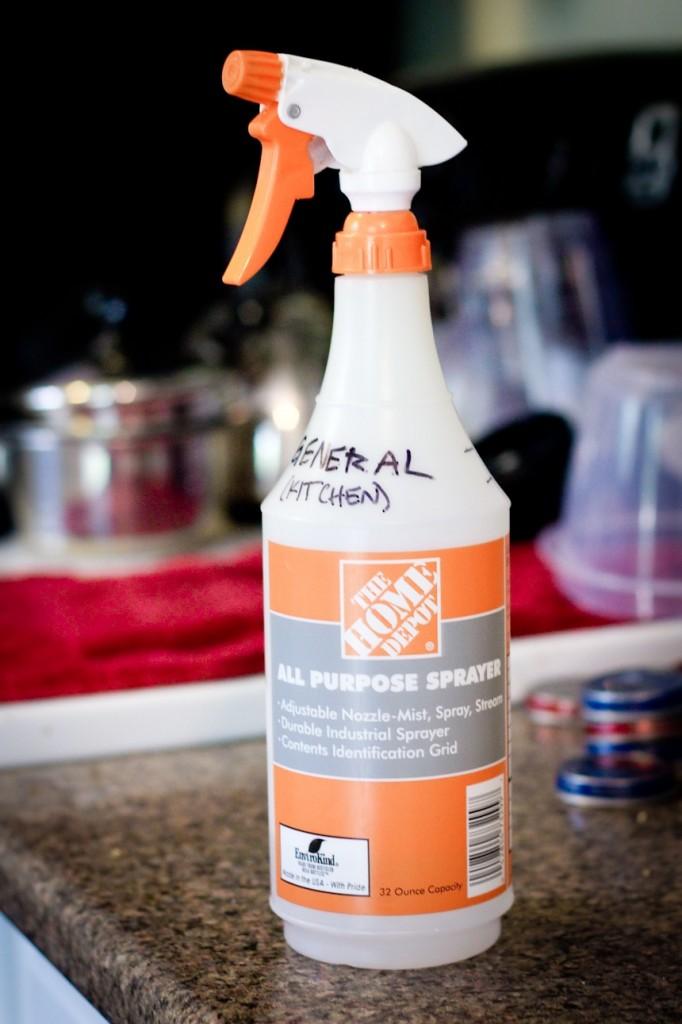 Productos de limpieza para hacer en casa