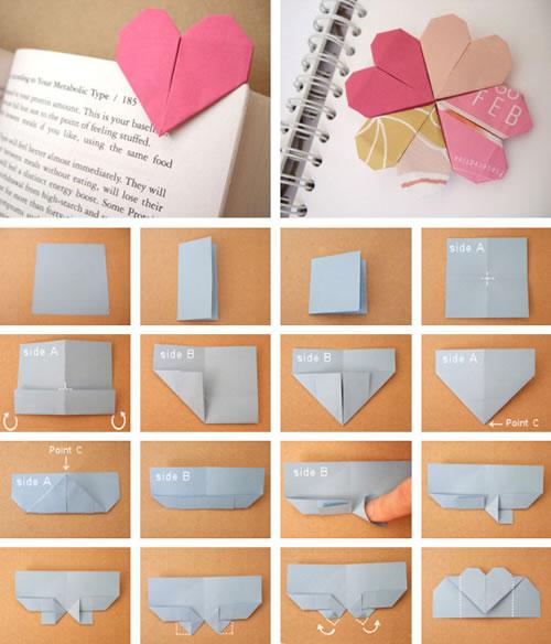 Señalador con origami
