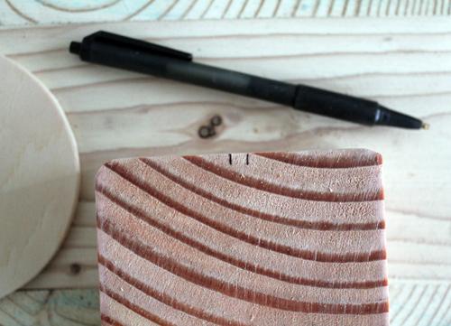 Candelabro de madera y cobre 3