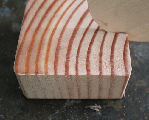 Candelabro de madera y cobre 4