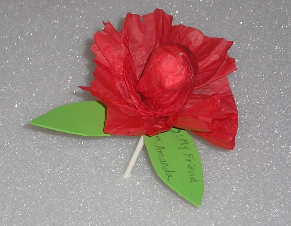 Envoltorio para dulces con forma de flor 1