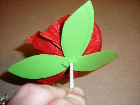 Envoltorio para dulces con forma de flor 6