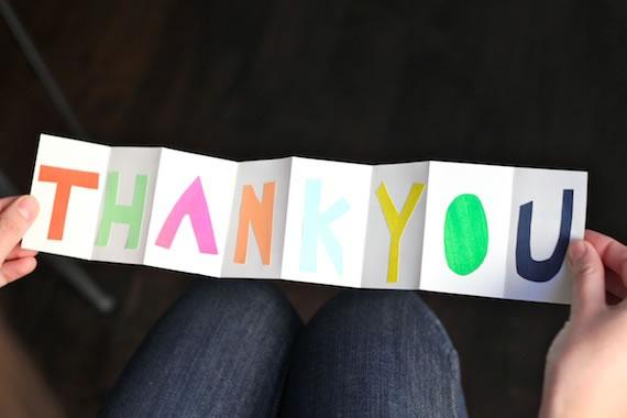Tarjeta de agradecimiento 1