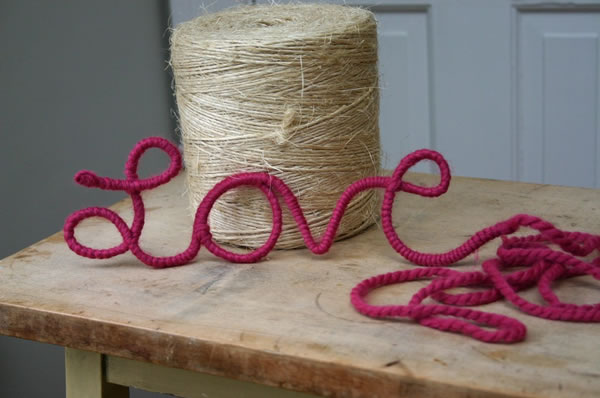 Palabra amor para decorar 1