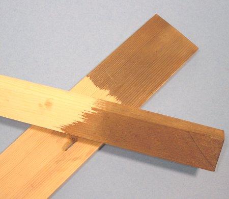 C mo envejecer la madera gu a de manualidades - Productos de madera para manualidades ...