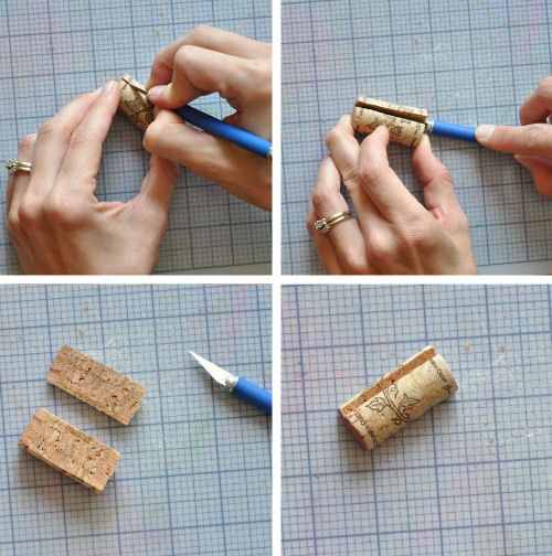 c mo hacer sellos de corcho gu a de manualidades