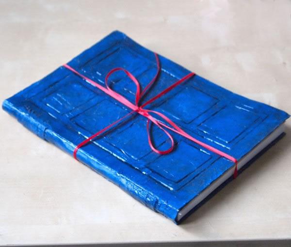 Cuaderno con estilo de Tardis
