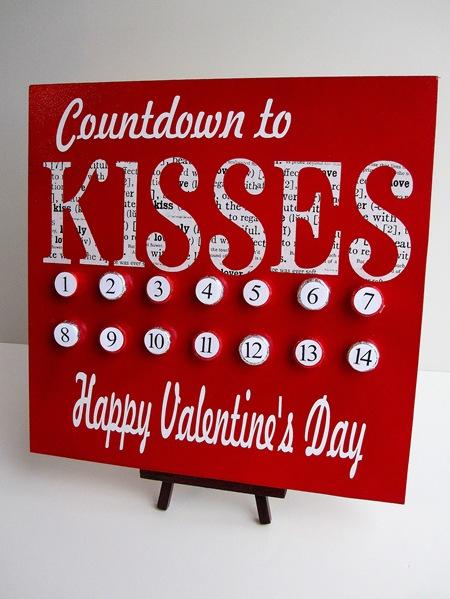 Calendario de San Valentín 1