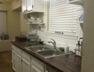 imagen Paso a paso para una encimera de madera en la cocina