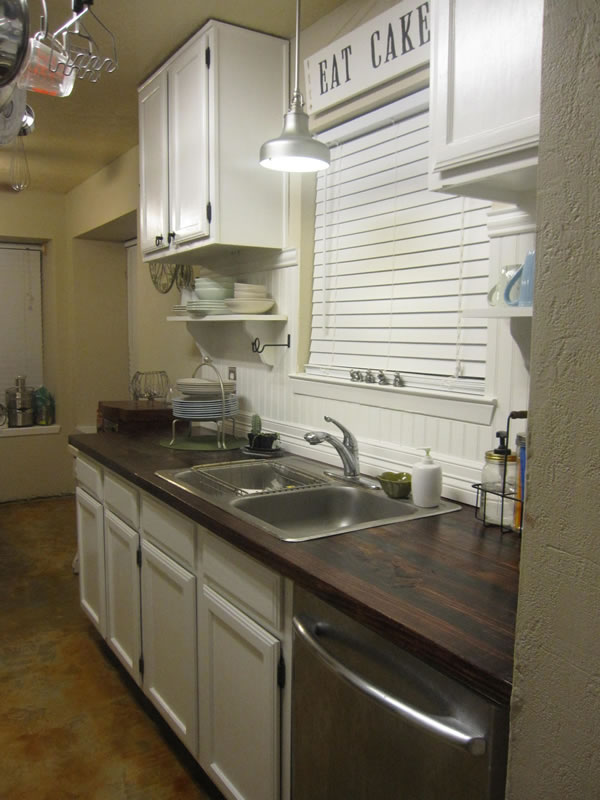 Paso a paso para una encimera de madera en la cocina - Medidas de encimeras de cocina ...