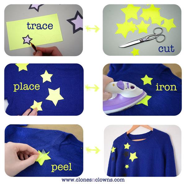 Jersey personalizado con estrellas 2
