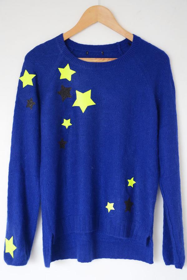 Jersey personalizado con estrellas 3