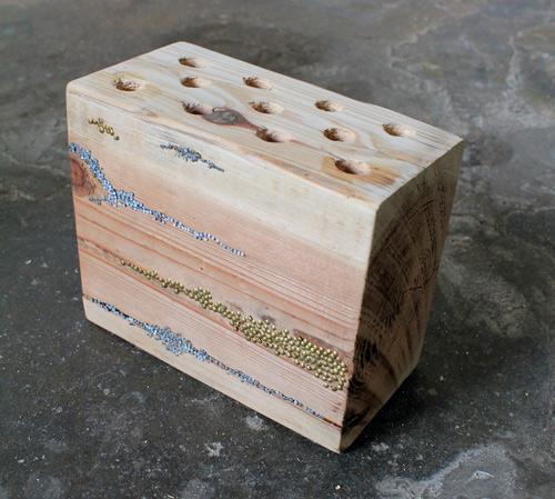 Portalápices de madera 8