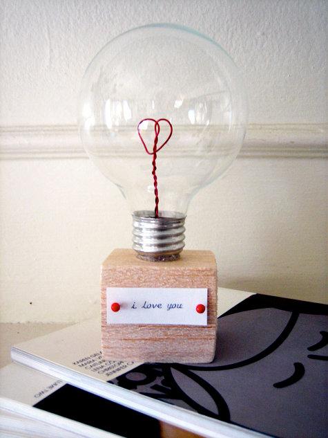 Bombilla de San Valentín 4