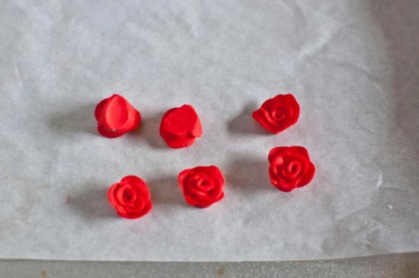 Pendientes de rosa 6