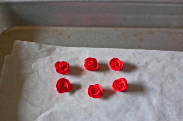 Pendientes de rosa 7