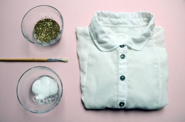 De blusa corriente a ropa de fiesta1