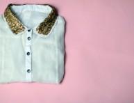 imagen Convierte una blusa corriente en ropa de fiesta