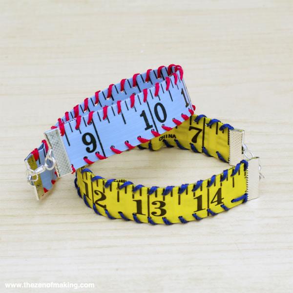Brazalete de cinta métrica 8